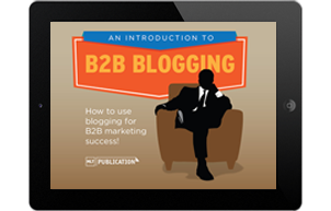 b2b blogging ebook
