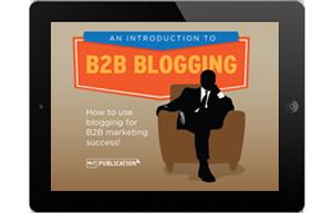 b2b blogging ebook