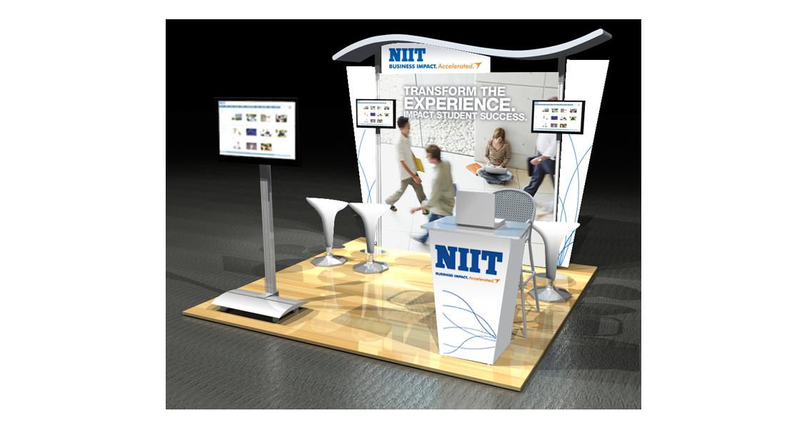 NITT trade show booth