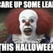 Scare up some leads this halloween