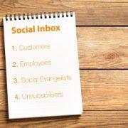 HubSpot Social Inbox monitor