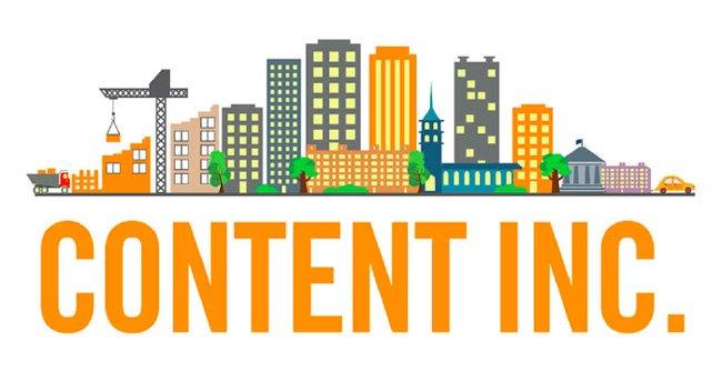 Joe Pulizzi's Content Inc. book cover
