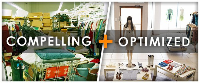 A compelling thrift store + an optimized boutique