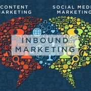 content marketing, social media marketing and inbound marketing