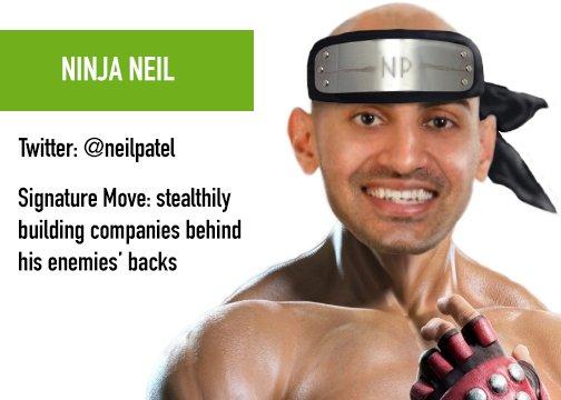 Ninja Neil Patel