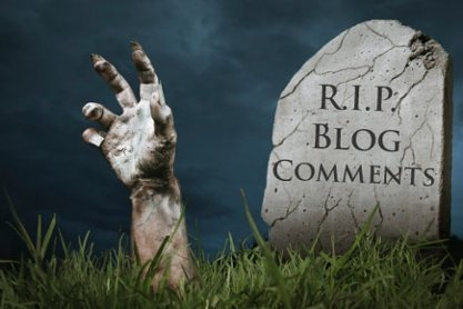 R.I.P. blog comments