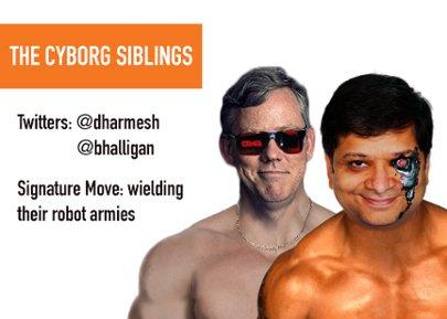 The Cyborg Siblings - Dharmesh Shah and Brian Halligan