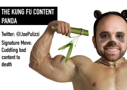 Kung Fu Panda - Joe Pulizzi