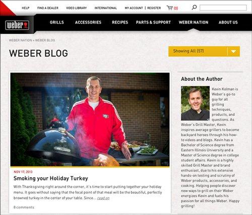 Weber blog