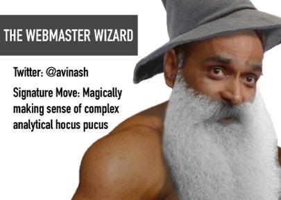 Webmaster Wizard - Avinash Kaushik