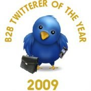 B2B Twitterer of the Year 2009