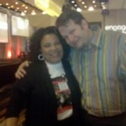 Martine Hunter & Chris Brogan at BMA Engage 2010 conference in Chicago