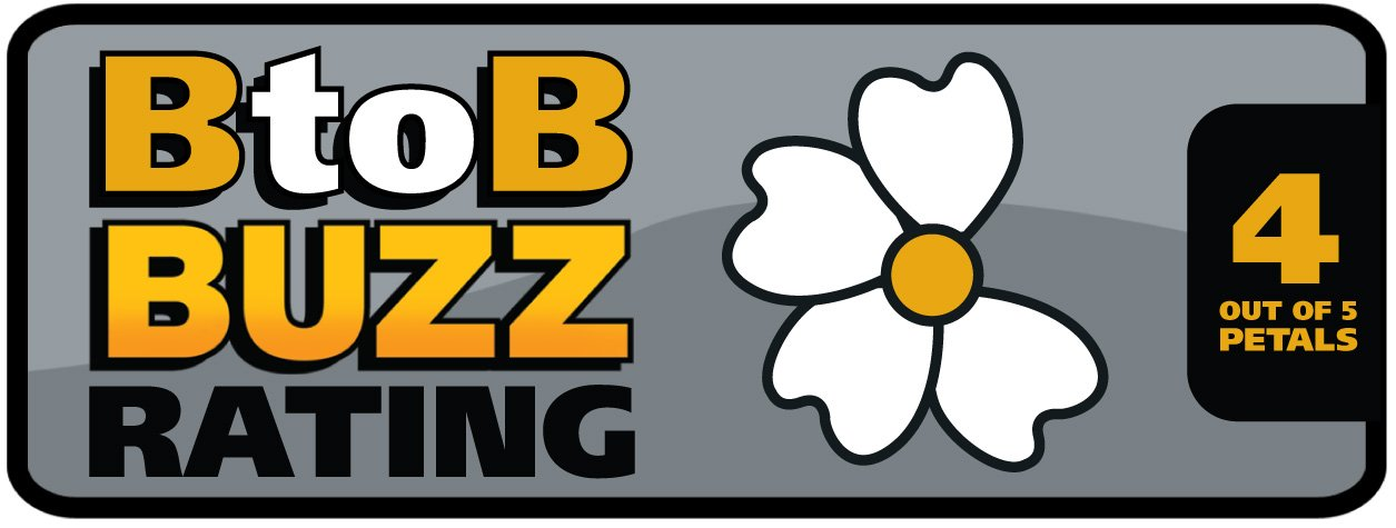 BtoB Buzz Rating 4 Out of 5 Petals