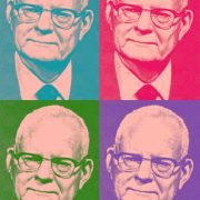 A Warholized Dr. W. Edwards Deming