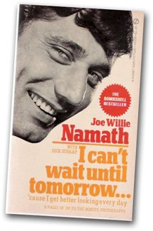 Front cover of Joe Namath's book