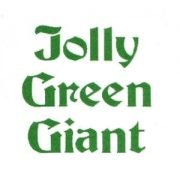 Jolly Green Giant text
