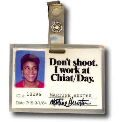 The Official Chiat/Day badge