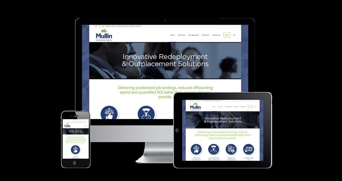 Mullin International - Website Design & Development