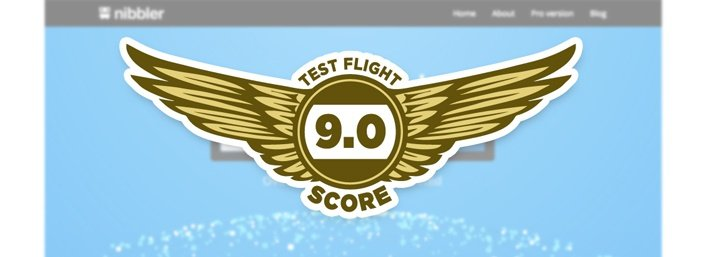 Nibbler - Test Flight Score 9.5