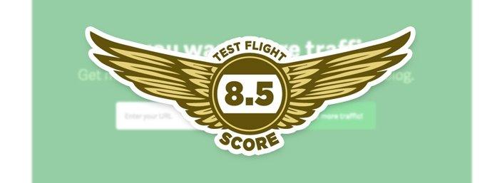 Quicksprout - Test Flight Score 8.5