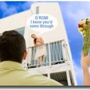 O Romi I knew you'd come through