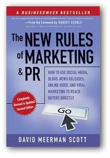 The New Rules of Marketing & PR book