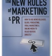 The New Rules of Marketing PR book cover