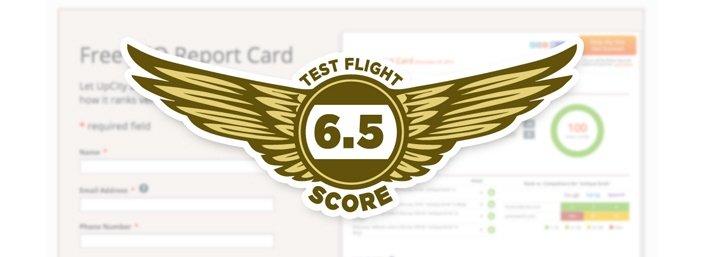 Up City - Test Flight Score 6.5