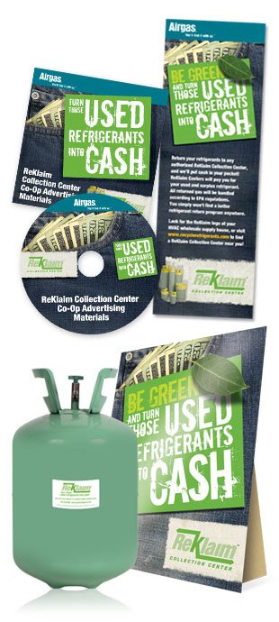 USED refrigerants into CASH