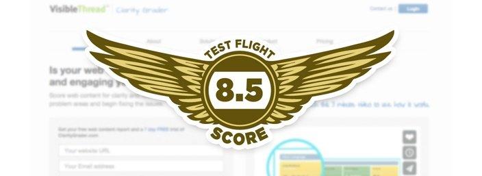 Visible Thread - Test Flight Score 8.5