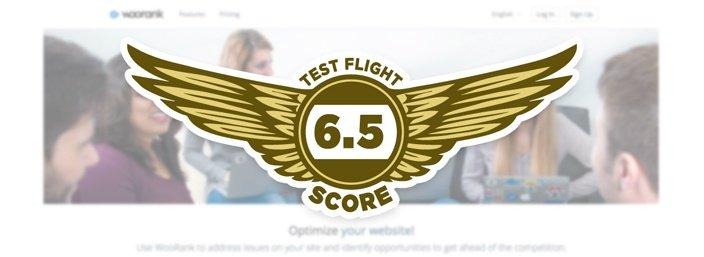 Woorank - Test Flight Score 6.5