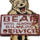 advertising bear character