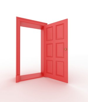 an open door in b2b marketing