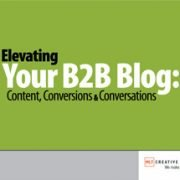 Elevating Your B2B Blog: Content, Conversions & Conversations