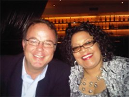 Martine and Phil Clement of Aon Hewett