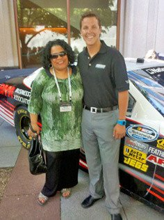 Martine Hunter & Trevor Bayne at 2011 BMA Unleash
