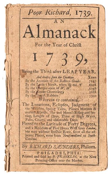 Poor Richard's Almanac-Ben's Blog