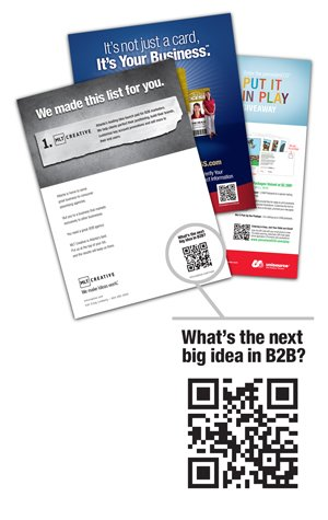 b2b marketing qr code