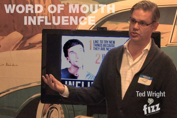 Ted Wright on Word of Mouth Influence