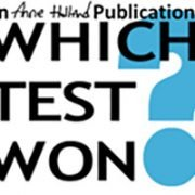 Which Test Won? An Anne Holland Publication logo