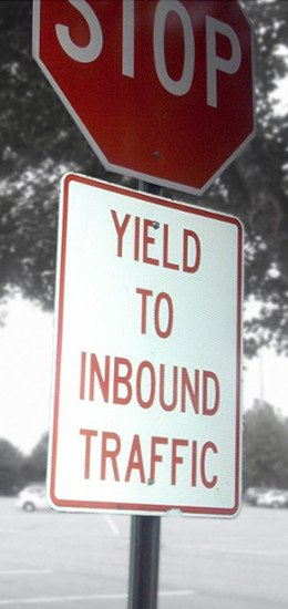 B2B Marketers: Yield to Inbound Traffic using tips for increasing website traffic.