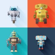 Four b2b marketing automation robots