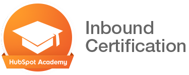 HubSpot Academy Inbound Certification badge