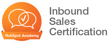 HubSpot Academy Inbound Sales Certification badge