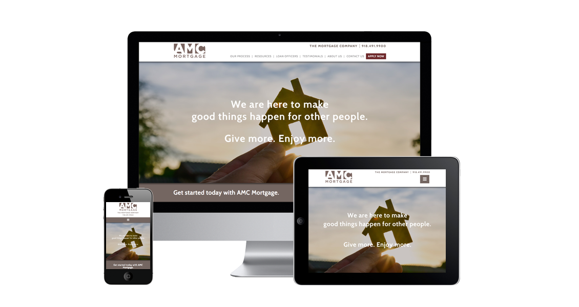 AMC Mortgage - Website Design & Development