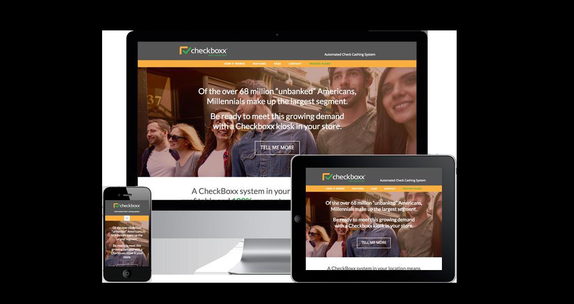 CheckBoxx - Website Design & Development