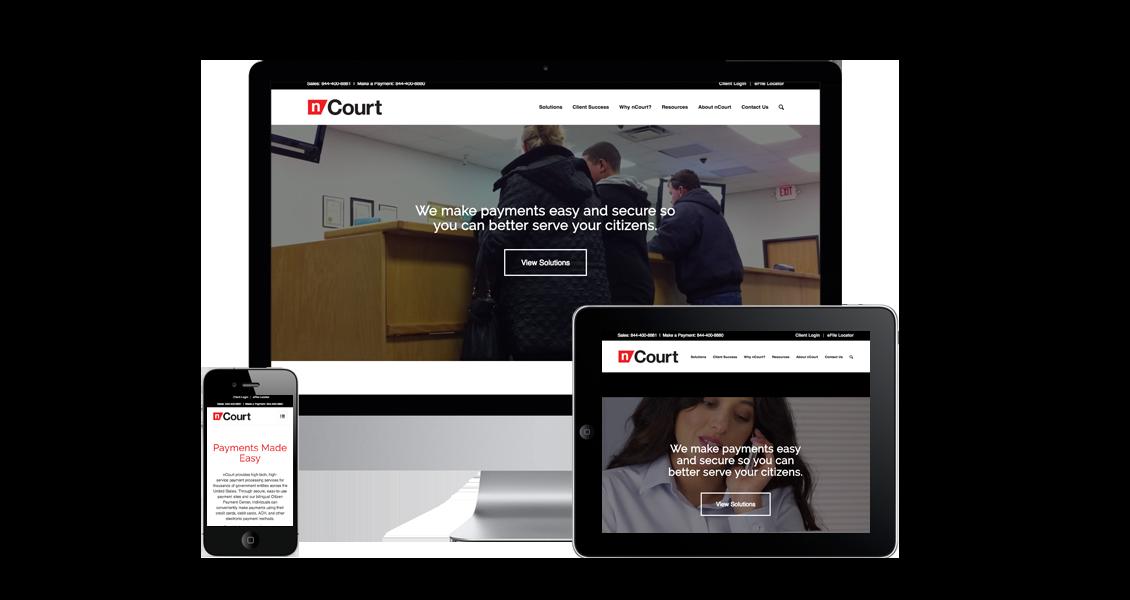 nCourt - Website Design & Development