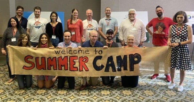 HubSpot Summer Camp Group Shot